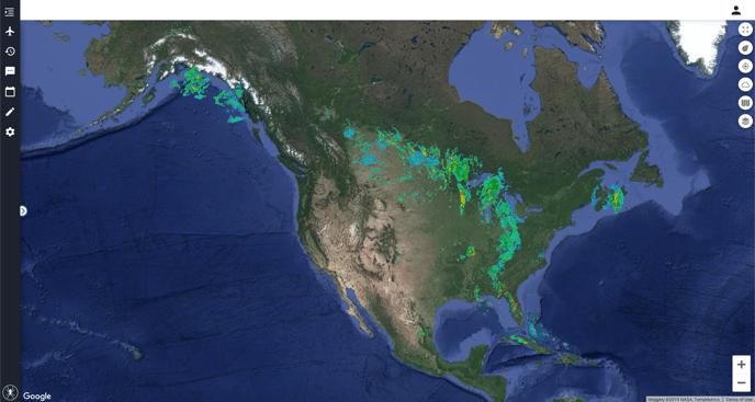 North America Radar